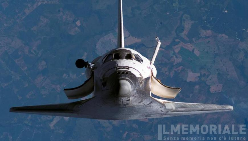 La NASA presenta lo Space Shuttle
